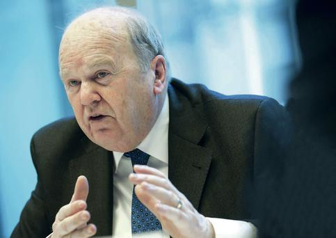 Finance Minister Michael Noonan is known for being cautious
