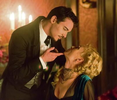 Jonathan Rhys Meyers and Victoria Smurfit in 'Dracula'