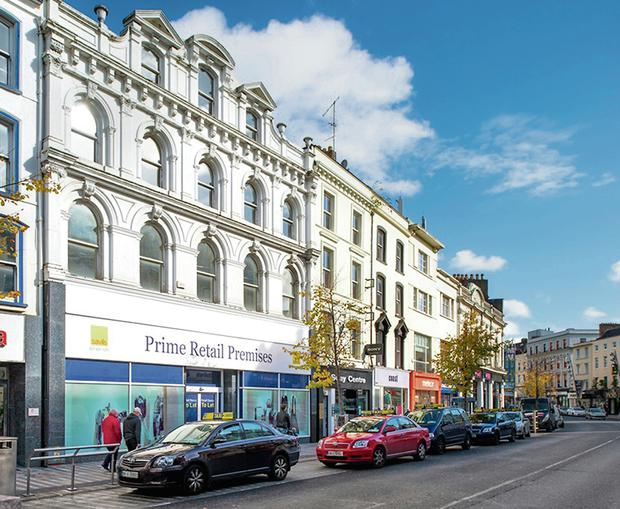 REJUVENATION: Cork city centre is attracting the attention of 'high order' companies as trading conditions improve