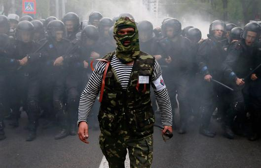 RUSSIAN ARMS: Chaos in Ukraine