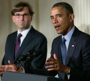 Jason Furman with President Obama