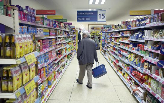 Shape of things to come: Browsing in the aisles of your local supermarket is on the way out