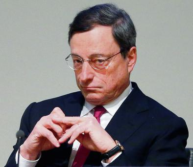 President of the European Central Bank, Mario Draghi