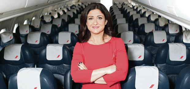 Cityjet chief executive Christine Ourmières