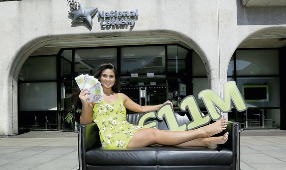The National Lottery's sales declined for the fifth year in a row