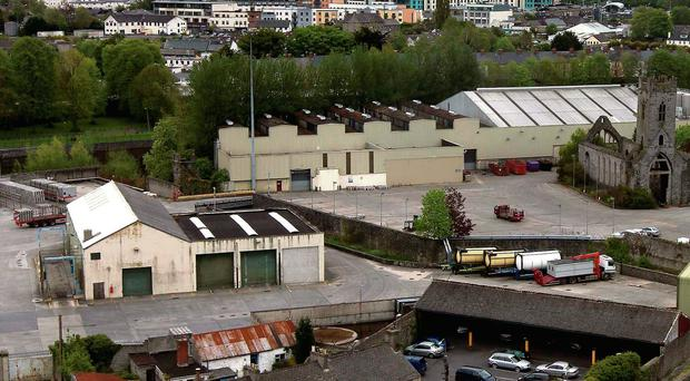 The former Smithwick's brewery site in Kilkenny.