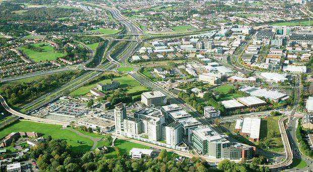Central Park office development in Dublin which was sold in January for €312m