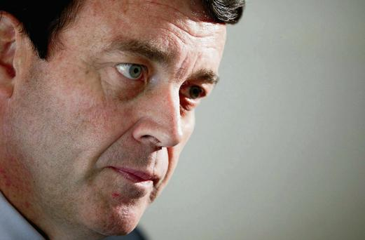 Brian Lenihan ruled out having a Northern Ireland representative on the Nama board