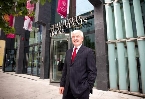 Pat Costello of Chartered Accountants Ireland.