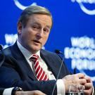 Taoiseach Enda Kenny at the forum in Switzerland