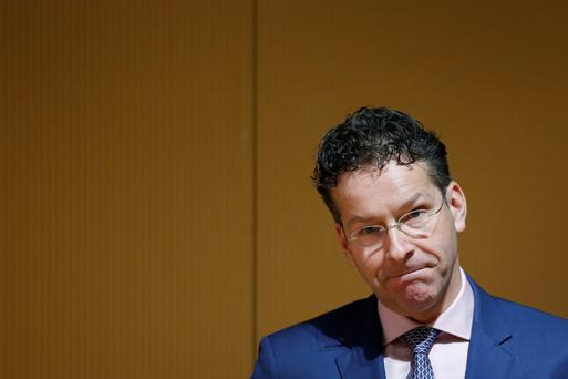 Jeroen Dijsselbloem, the chairman of the Eurogroup.