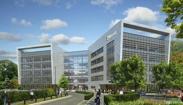 New Microsoft offices in Dublin