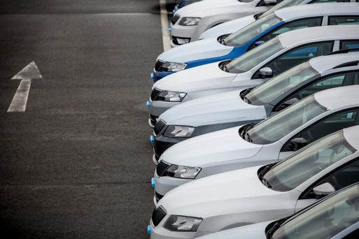 It was designed to spread car purchases evenly across the year. The CSO said that year on year, there has also been a steady increase in new car sales. Photo: Martin Divisek/Bloomberg