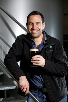 Niall Phelan of Rye River Brewery in Kilcock, Co Kildare