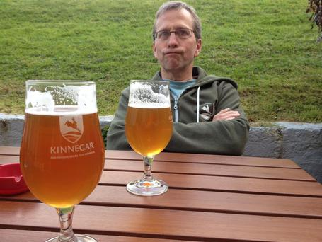 Rick LeVert from the Kinnegar Brewing Company in Co Donegal