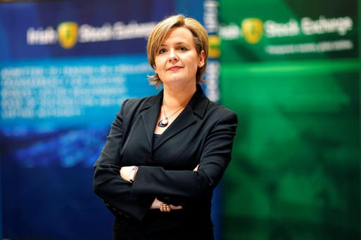 Deirdre Somers, chief executive of the Irish Stock Exchange