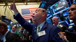 Busy trading on markets, with US index of bonds down 0.4pc