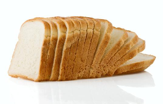 Bread sliced