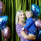 Pippa O'Connor and her son Ollie. Pippa online presence is managed by iZest