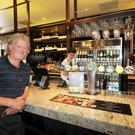 Tim Martin, of Wetherspoons at The Three Tun Tavern, Blackrock