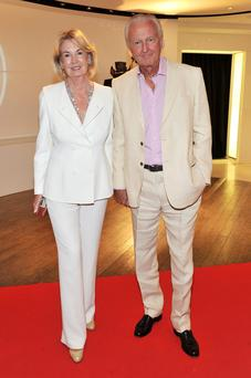 Power couple: Hilary and Galen Weston