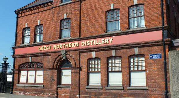 The first distillation takes place at the Great Northern Distillery as totoal Irish whiskey sales are expected to double by 2024
