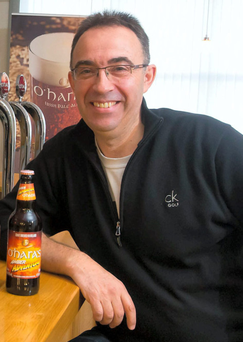 Seamus O'Hara of the Carlow Brewing Company