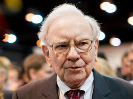 Billionaire Warren Buffett, owner of Berkshire Hathaway
