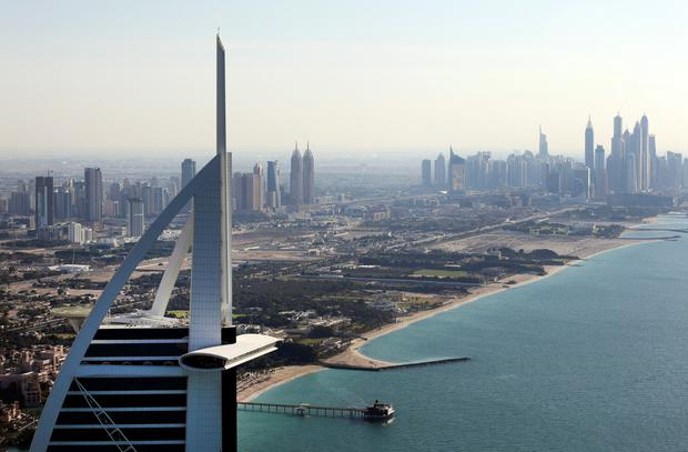 Dubai saw the largest drop in the world for property prices last year. Photo: Chris Ratcliffe/Bloomberg