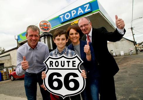 Topaz, Ireland's leading fuel and convenience retailer, has announced Carlow man Joseph Murphy as the August winner of Topaz PLAY or PARK. After choosing to PLAY his points, Joseph is gearing up for the road-trip of a lifetime, with his wife Amanda, across America's infamous Route 66. Over 375,000 customers have signed up to play Topaz PLAY or PARK, the loyalty game which allows customers collect points every time they refuel or make a purchase at participating Topaz stores.