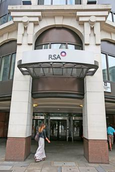 RSA Insurance Group's offices in Leadenhall Street in London