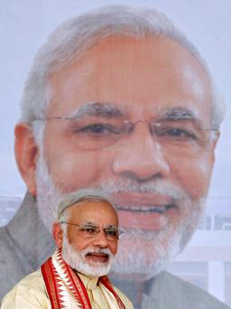 Narendra Modhi aims to shape a new, more business-friendly, India.