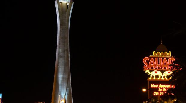 The landmark Stratosphere casino and hotel in Las Vegas.