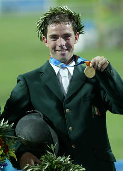 Olympic medalist Cian O'Connor