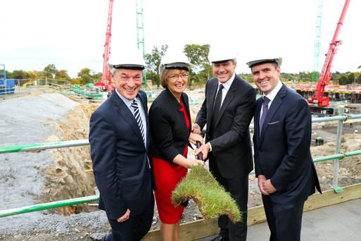 Minister Richard Bruton T.D. Joins Microsoft to mark the start of construction of Microsoft's new €134m Campus