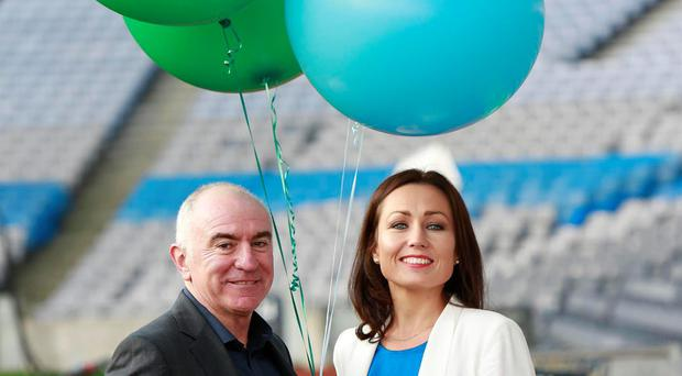 An Post Launch 7th Annual 'Grow My Business' Conference fiona heffernan an post and gary brown target mcconnells