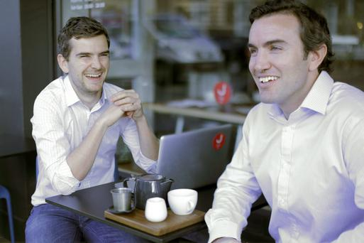 Brothers Stephen Quinn (32), the ceo of Jobbio, and brother John (36), the chairman
