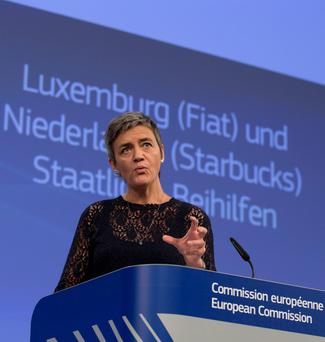 European Commissioner for Competition Margrethe Vestager. Photo: AP