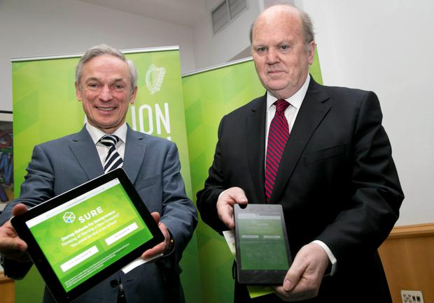 Jobs Minister Richard Bruton failed in his bid to get Finance Minister Michael Noonan to introduce Budget measure