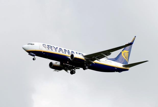 Ryanair will take delivery of 28 new Boeing 737 aircraft this winter, which will boost its fleet to 340 jets by the end of the financial year. Photo: PA