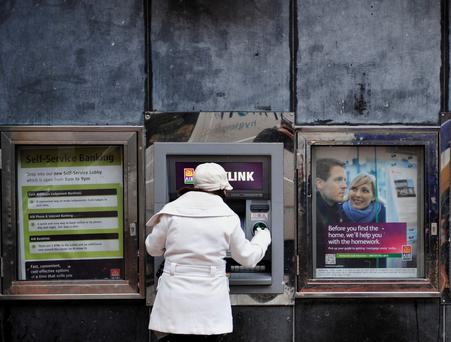 AIB and Bank of Ireland face European-wide tests again. Photo: Aidan Crawley/Bloomberg