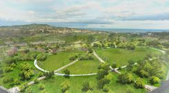 A computer-generated image of Tully Park, one of the recreation areas which is being proposed under the ambitious development at Cherrywood in south county Dublin