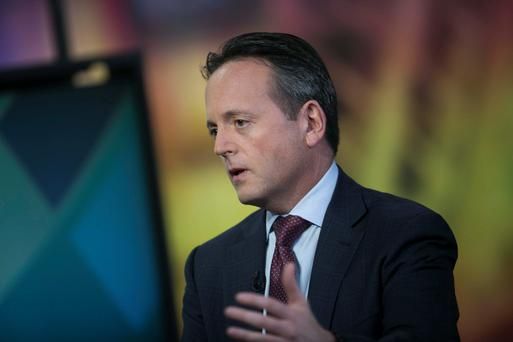 Brent Saunders, the chief executive of Allergan. Photo: Bloomberg