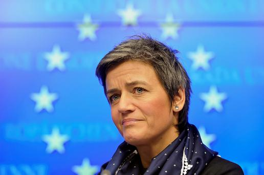 European Competition Commissioner Margrethe Vestager. Photo: Jock Fistick/Bloomberg