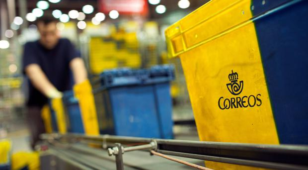 Correos says it attempted to contact An Post several times. Photo: Bloomberg