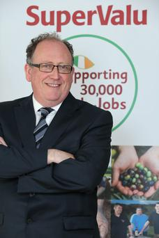 Martin Kelleher, managing director SuperValu