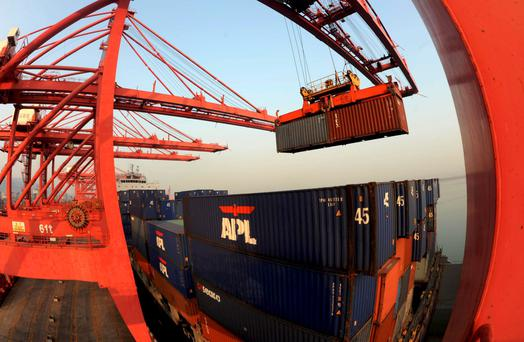 Exporters' profits hold out despite fears over the global picture. Photo: Reuters