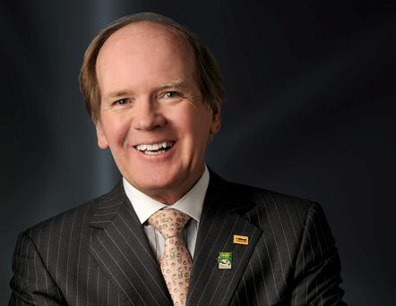 Alltech founder Pearse Lyons. Photo: Altech