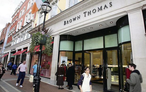 A virtual shoe tsunami is about to hit Brown Thomas in Grafton Street, Dublin, with a roll call of four designer shoe boutiques in the coming months