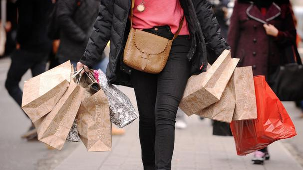 The higher levels of consumer confidence come as a record increase in Irish online shopping fuelled a 6.6pc year-on-year jump in consumer spending last month